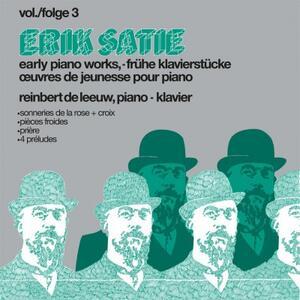 Early Pianoworks vol.3 - Vinile LP di Erik Satie