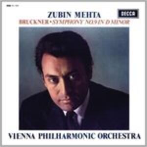 Sinfonia n.9 - Vinile LP di Anton Bruckner,Zubin Mehta,Wiener Philharmoniker
