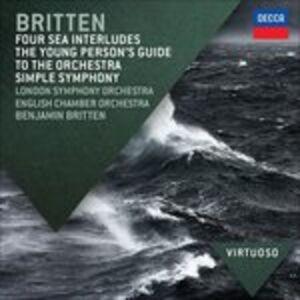 CD Guida del giovane all'orchestra di Benjamin Britten