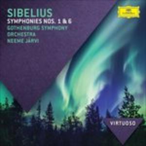 CD Sinfonie n.1, n.6 di Jean Sibelius