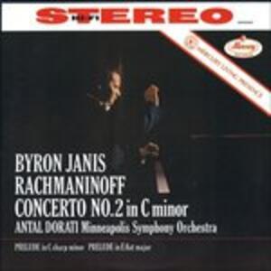 Concerti per Pianoforte n.2, n.3 - Vinile LP di Sergej Vasilevich Rachmaninov,Antal Dorati,Byron Janis,Minneapolis Symphony Orchestra
