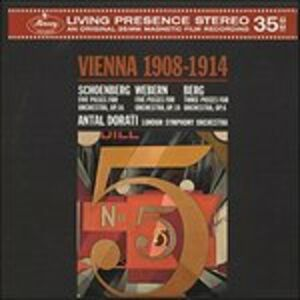 Vinile Vienna 1908-1914 Alban Berg , Arnold Schönberg , Anton Webern