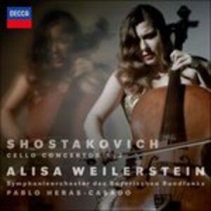 CD Concerti per violoncello n.1, n.2 di Dmitri Shostakovich