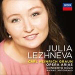 Arie d'opera - CD Audio di Concertino Köln,Carl Heinrich Graun,Julia Lezhneva