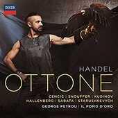 CD Ottone Georg Friedrich Händel Max Emmanuel Cencic George Petrou