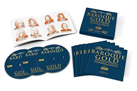 Baroque Gold 100 - CD Audio