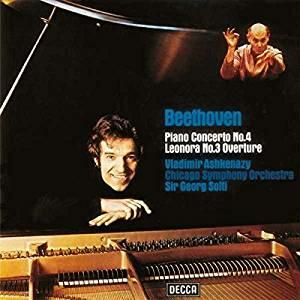 Concerto per pianoforte n.4 - Ouverture Leonora n.3 - Vinile LP di Ludwig van Beethoven,Vladimir Ashkenazy,Georg Solti,Chicago Symphony Orchestra