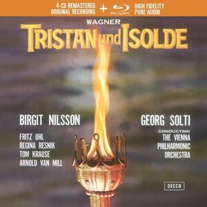 Tristano e Isotta - CD Audio + Blu-Ray Audio di Richard Wagner,Birgit Nilsson,Georg Solti,Wiener Philharmoniker