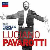 CD The People's Tenor Luciano Pavarotti