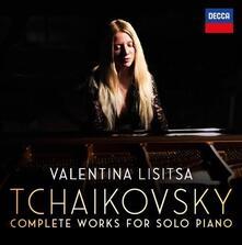 Complete Solo Piano Works (Box Set) - CD Audio di Pyotr Ilyich Tchaikovsky,Valentina Lisitsa