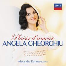 Plaisir d'amour - CD Audio di Angela Gheorghiu