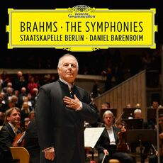 CD Le sinfonie Johannes Brahms Daniel Barenboim Staatskapelle Berlino