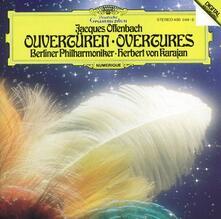 Ouvertures - Vinile LP di Jacques Offenbach,Herbert Von Karajan,Berliner Philharmoniker