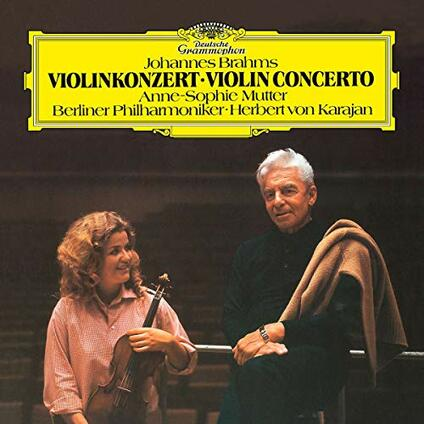 Concerto per violino (180 gr.) - Vinile LP di Johannes Brahms,Herbert Von Karajan,Anne-Sophie Mutter