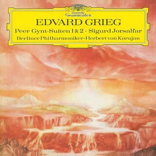 Vinile Perr Gynt Suites n.1 e n.2 (180 gr.) Edvard Grieg Herbert Von Karajan Berliner Philharmoniker