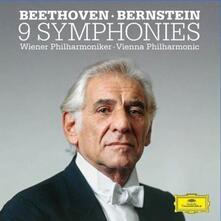 Le 9 Sinfonie (Limited Deluxe Box Set Edition) - CD Audio + Blu-ray di Ludwig van Beethoven,Leonard Bernstein,Wiener Philharmoniker