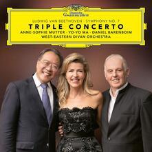 Triplo concerto - Sinfonia n.7 - CD Audio di Ludwig van Beethoven,Yo-Yo Ma,Anne-Sophie Mutter,West-Eastern Divan Orchestra,Daniel Barenboim