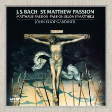 La Passione di San Matteo (Limited Vinyl Box Set Edition) - Vinile LP di Johann Sebastian Bach,John Eliot Gardiner