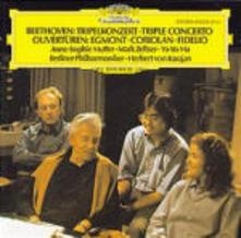 Triplo concerto - Vinile LP di Ludwig van Beethoven,Yo-Yo Ma,Herbert Von Karajan,Anne-Sophie Mutter,Berliner Philharmoniker,Mark Zeltser