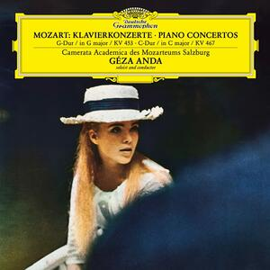 Vinile Concerto per pianoforte n.17, n.21 Wolfgang Amadeus Mozart Géza Anda