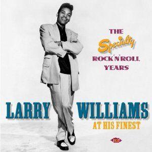 Foto Cover di At His Finest, CD di Larry Williams, prodotto da Ace