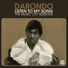 Listen to My Song. The Music City Sessions - Vinile LP di Darondo