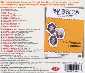 CD Run Baby Run di Newbeats 1
