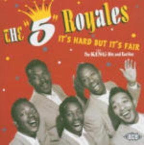 CD It's Hard but it's Fair: King Hits and Rarities di 5 Royales