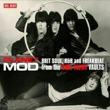 Planet Mod. Brit Soul, R&B and Freakbeat (180 gr. Clear Vinyl) - Vinile LP