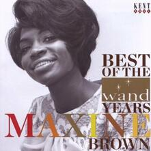 Best of the Wand Years - Vinile LP di Maxine Brown