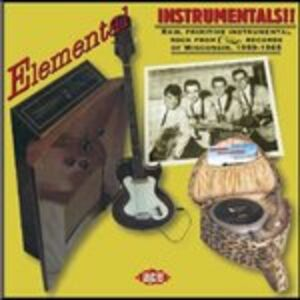 Foto Cover di Elemental Instrumentals, CD di  prodotto da Ace