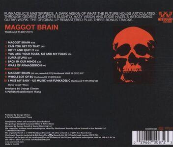 CD Maggott Brain di Funkadelic 1