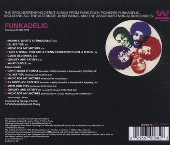 CD Funkadelic di Funkadelic 1