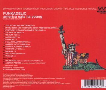 Foto Cover di America Eats Its Young, CD di Funkadelic, prodotto da Westbound 1