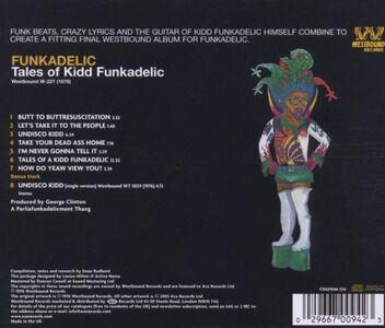 CD Tales of Kidd Funkadelic di Funkadelic 1
