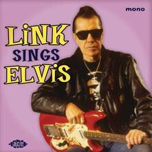 Link Sings Elvis - Vinile 10'' di Link Wray