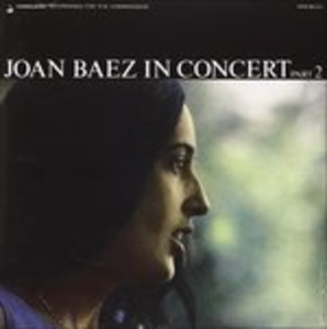 CD In Concert Part 2 di Joan Baez