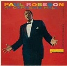 At Carnegie Hall 9 May '58 - CD Audio di Paul Robeson