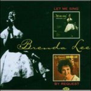 CD Let Me Sing-By Request di Brenda Lee