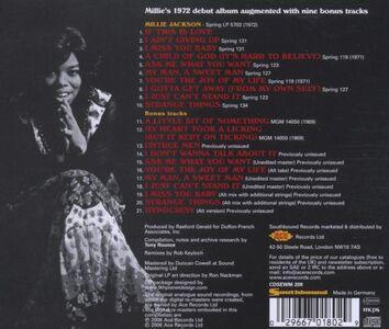 CD Millie Jackson di Millie Jackson 1