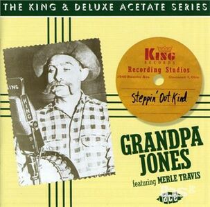 CD Steppin' Out Kind di Grandpa Jones