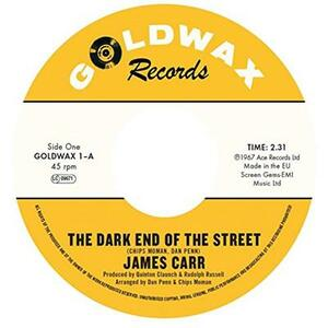 Dark End of the Street - You've Got My Mind Messed - Vinile 7'' di James Carr