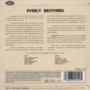 CD They're Off & Rollin' di Everly Brothers 1
