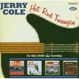 CD Hot Rod Twangin' di Jerry Cole