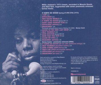 Foto Cover di It Hurts so Good, CD di Millie Jackson, prodotto da Southbound 1