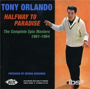 Foto Cover di Halfway To Paradise, CD di Tony Orlando, prodotto da Ace