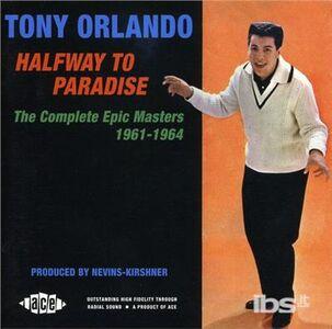 CD Halfway To Paradise di Tony Orlando