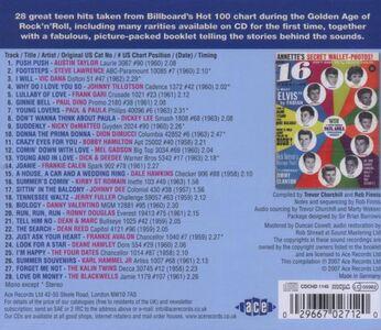 Foto Cover di Teenage Crush vol.5, CD di  prodotto da Ace 1