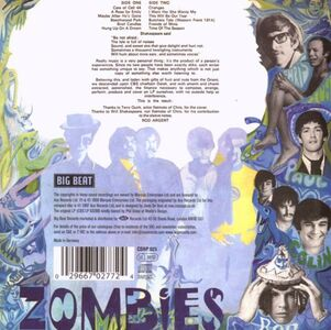CD Odessey & Oracle di Zombies 1
