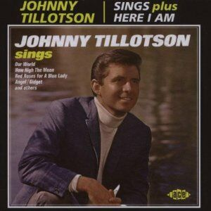 CD Sings - Here I Am di Johnny Tillotson 0